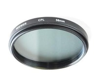 Фильтр для фотокамеры 58mm Polarized PL + UV + FD CAMERA FILTER Kit Set 58 mm