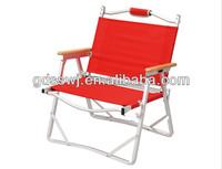 Стул с металлическим каркасом Folding camping armless chair