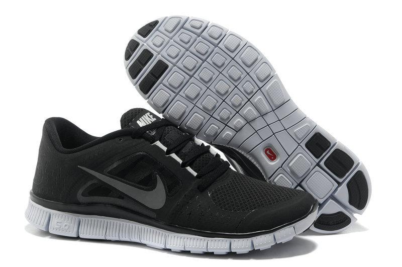 Nike free run 5 black