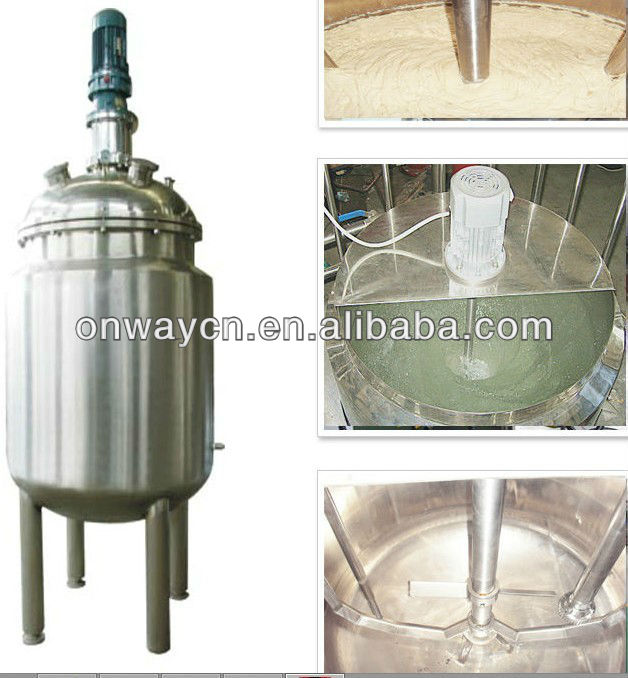 PL energy saving stainless steel chemical mixing machine