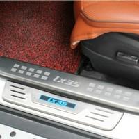Хромовые накладки для авто 2010/hyundai ix35 LED