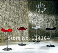 Bar Chair PU Surface Triangle Design Bar Stool 2pcs