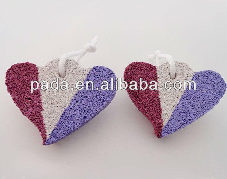 Heart Shape Pumice Foot Pad Pumice Stone