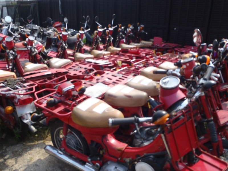 HONDA Used MOTORCYCLES for sale 50cc~125cc
