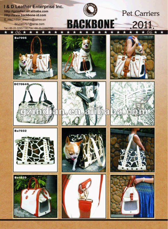 Pretty Printting Canvas dog Carrier BA7208