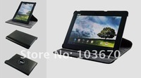 360 Degrees Rotating Stand Leather Case for ASUS Transformer Pad TF300, High Quality, Free Shipping