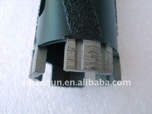 Laser Welded diamond core drill bit