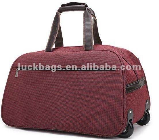 2012 new 1680D duffel trolley travel bag