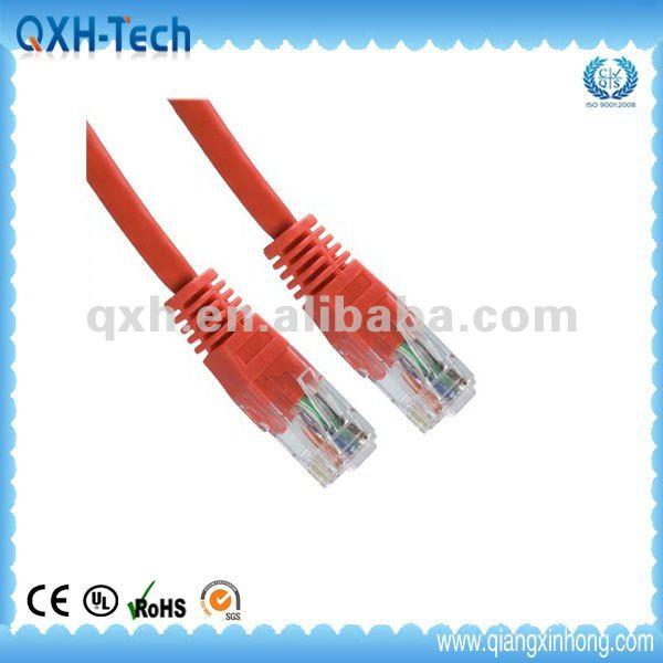 50 Ft Rj 45 Connector White Cat 5e Lan Network Ethernet