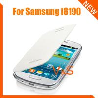Чехол для для мобильных телефонов Slim Side Flip PU Leather Case Cover For SAMSUNG S3 mini i8190 with back case 5pcs/lot