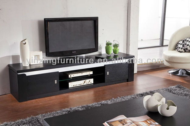Modern Design Mdf Black Lcd Tv Table Stand 610  Buy Lcd Tv Table