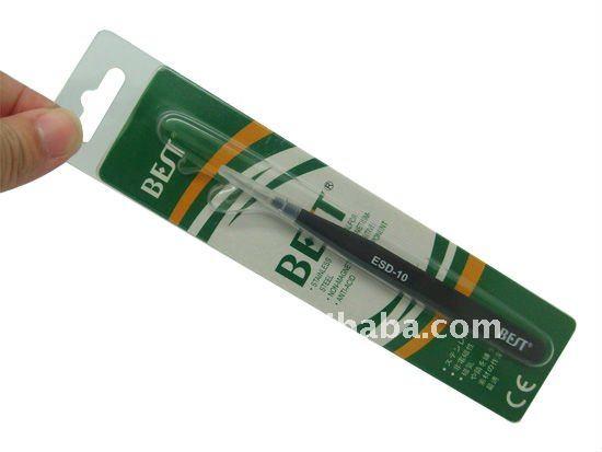 BEST-ESD-10 tweezer/anti static tweezers/high-powered tweezer/highly tweezers/flexibility tweezers/hard tweezers/elite tweezers