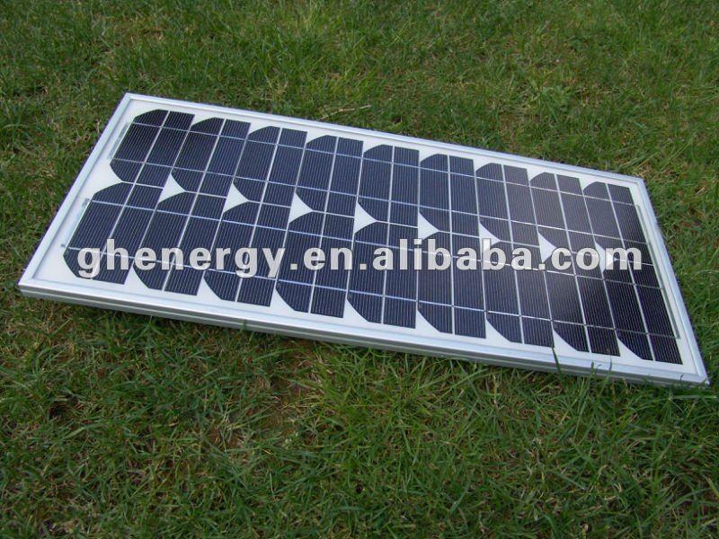 meilleur prix monocristallin panneaux 25 w solaire. Black Bedroom Furniture Sets. Home Design Ideas