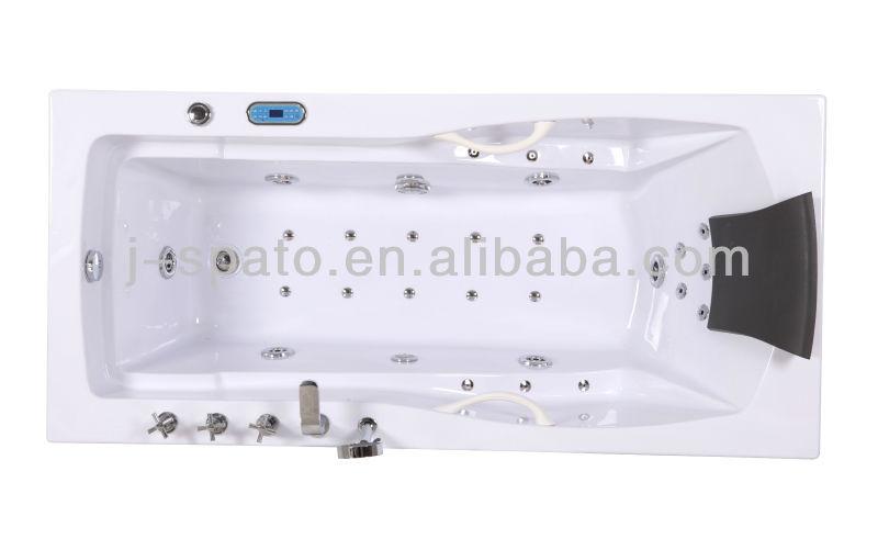Hot Sale Low Price Jet Whirlpool Bathtub with TV