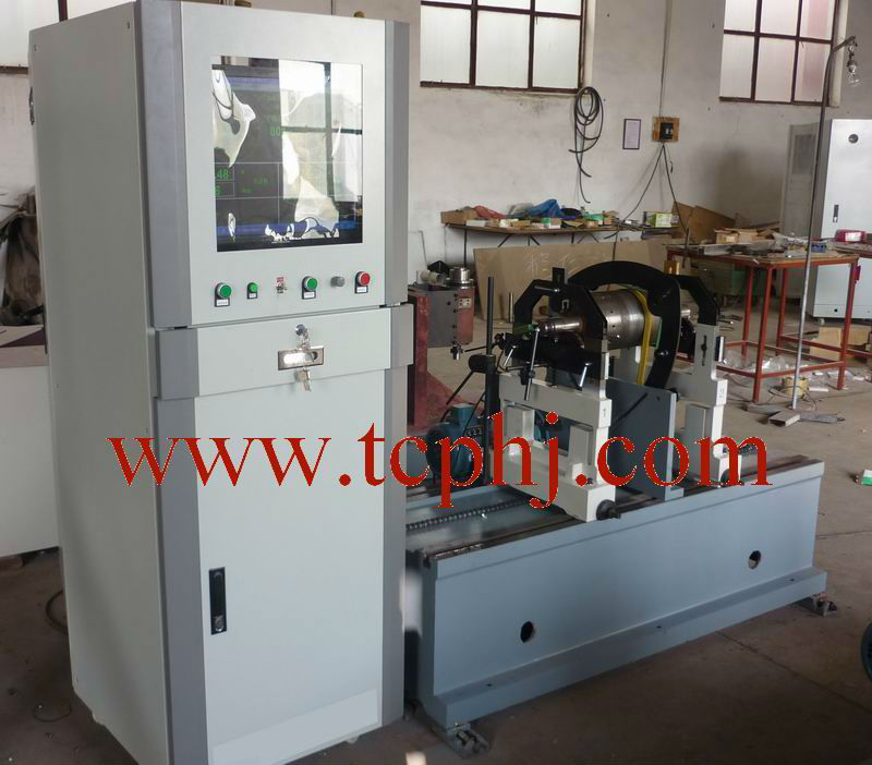 electric motors rotor balancing machine