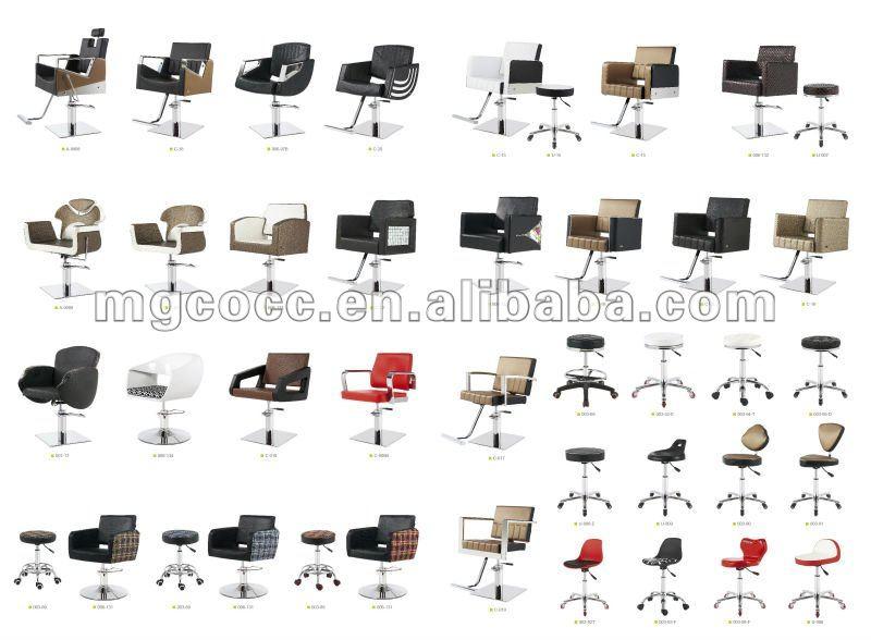 Montar Cadeira de Salão de Beleza e Cadeira do Champô Para móveis salão de beleza