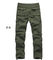 Мужские штаны 2013 Winter + Soldier Tactical pants man military multicam camping loose pants outdoor camouflage cargo trousers 28-38 W987