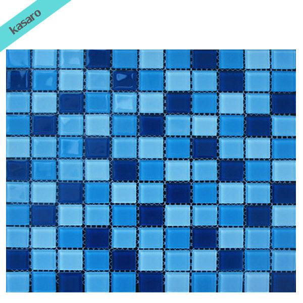Schwimmbad fliesen mosaik, blaue mosaik fliesen,im freien ...
