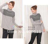 2012 Fashion Turtleneck Sweater for Maternity Women, Pregnant Women Sweater 3098