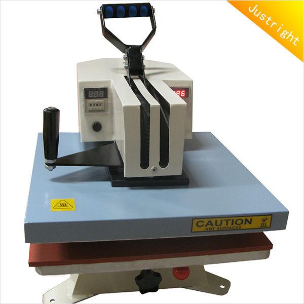 Manual heat press t shirt machine cheap CE certification