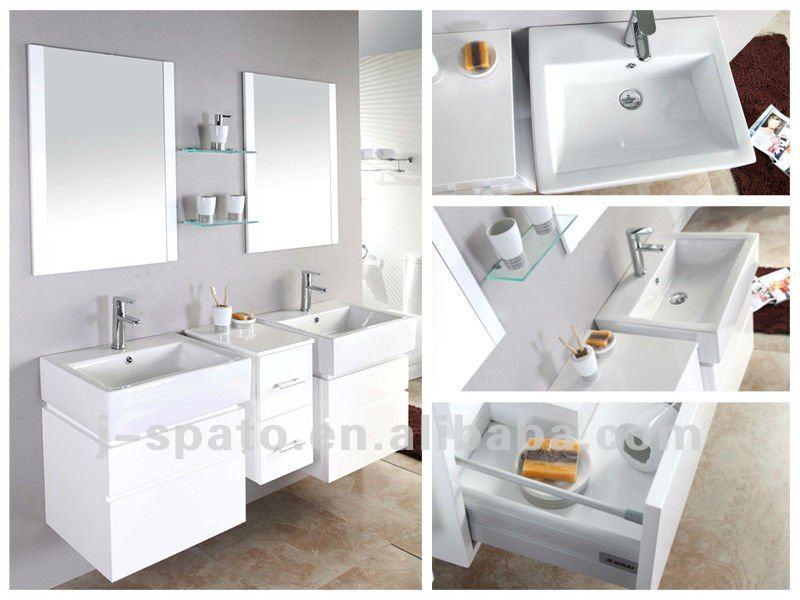 2012 Newest modern double vanity