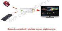 Mini PC  Android4.0 Google TV Box+2.4G Mini Wireless Keyboard  Remote Free Shipping