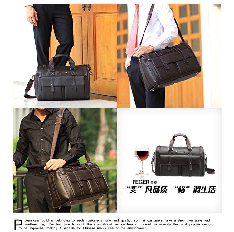 Free shipping / geniune leather bag / man briefcase /fashion handbag / man travel bag / man messenger bag / Shoulder Bag