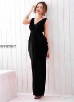 (Shipping Free!!) High Quality Cotton Dress/Korean Casual Dress/V Collar Ruffle Dress 3793