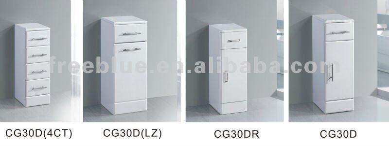 Petite salle de bains armoire de rangement meuble lavabo for Petite armoire de rangement salle de bain