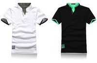 Мужская футболка Mens Brand Polo T-shirt Cotton Tops Tee Cool Design Summer Dress 6 Colors Size M/L/XL/XXL/XXXL
