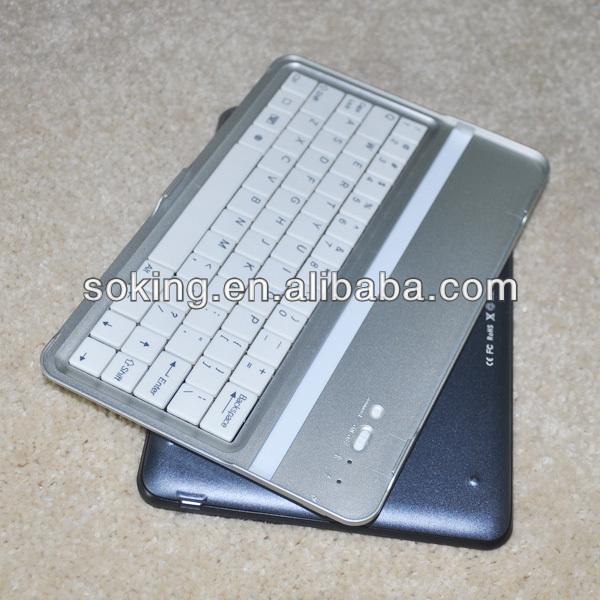 modern style designed bluetooth keyboard for iPad mini with sleep mode