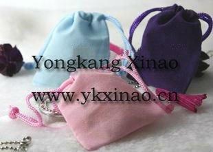 velvet phone bag