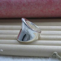 925 Sterling Silver Jewelry, Slippy Wave, Silver Rings, Wedding Rings, Engagement Betrothal Rings R052