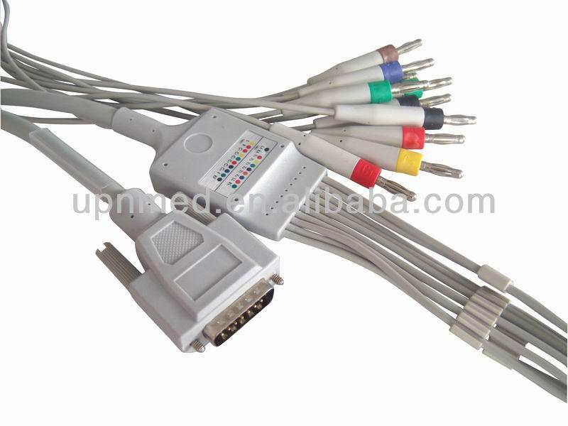 Nihon Kohden Eeg Nihon Kohden 10 Lead Ecg Cable