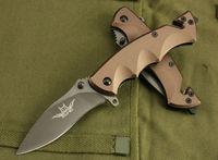fox folding knife rescue tool outdoor aluminum handle pocket knives