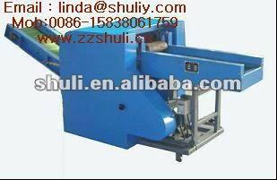 cloth crushing machine. textile waste crusher machine0086-15838061759
