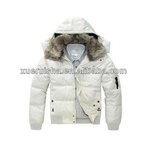 Fashionable Winter Feather & Down Jacket
