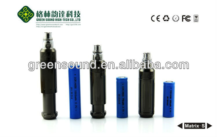 2013 Newest patent prodcut dry herb variable voltage ecig