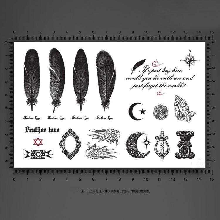 Временная татуировка Grape0368 Fashion 016 MU-016