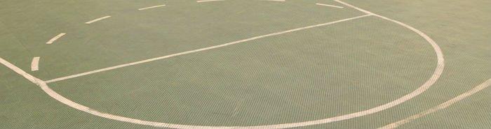 Leisure residential basketball flooring