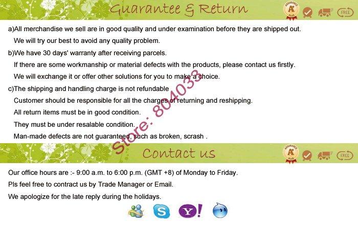 Guarantee-Return