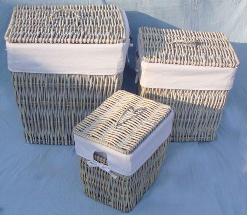 weide rattan korb mit deckel imitation von antiquit ten kunsthandwerke produkt id 604343442. Black Bedroom Furniture Sets. Home Design Ideas