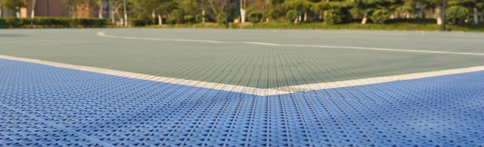Leisure residential basketball flooring
