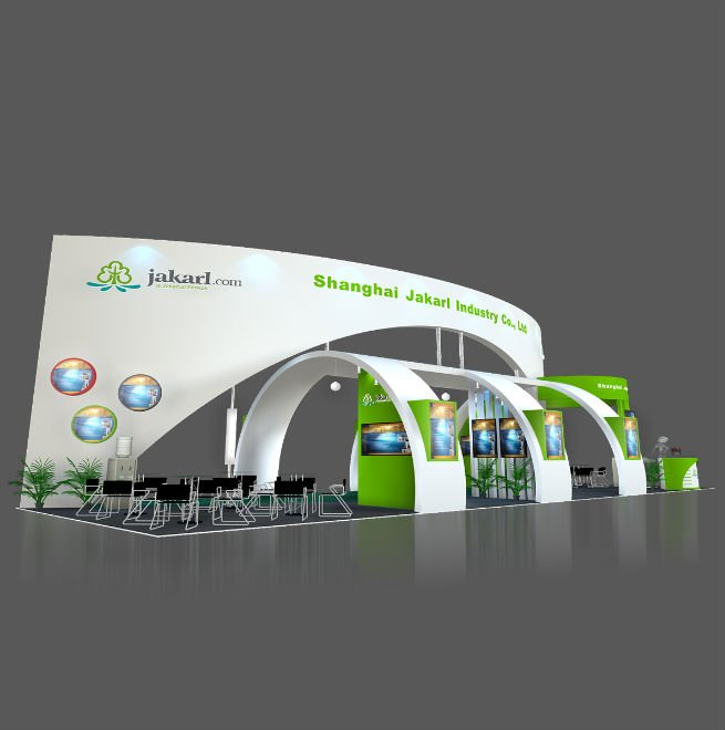 Exhibition booth stall design
