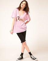 Женская футболка Wildfox Foxy epacket cpam 209482