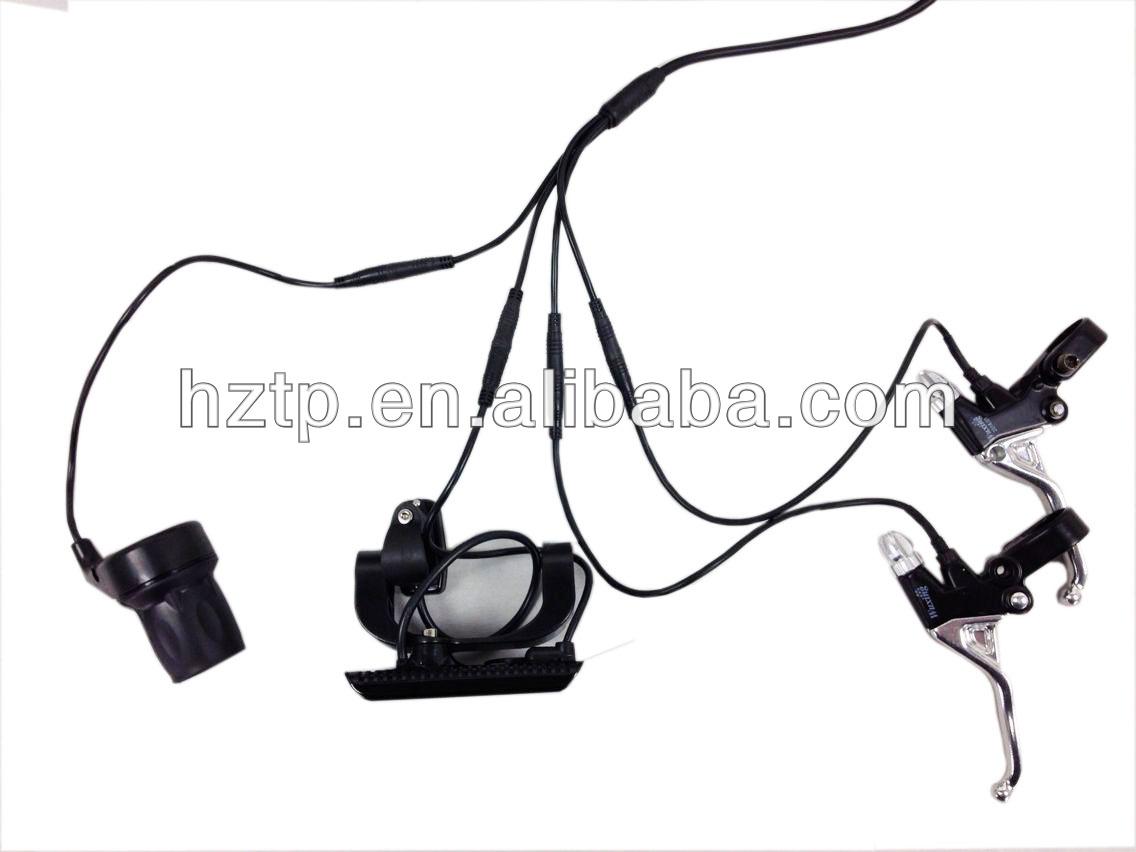 250W Motorized bike kit with rack carrier