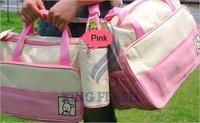 Сумка специального назначения 5PCS Multi Function Super Large mama Baby Diaper nappy Tote Shoulder Bag