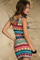 Женское платье Summer Women Ladies Clothing Sexy Clubwear Dresses Sleeveless Spaghetti Strap Sheath Dress Vestidos, 4 Color, Free Size