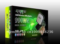 Сетевая карта OEM kasens 990WG 60DBI 3070 150M USB Adaptador wifi USB 6000MW