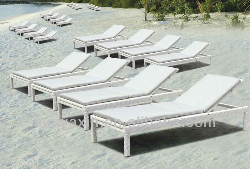 ML-6003 venda Quente rattan do PE de plástico cadeiras de praia
